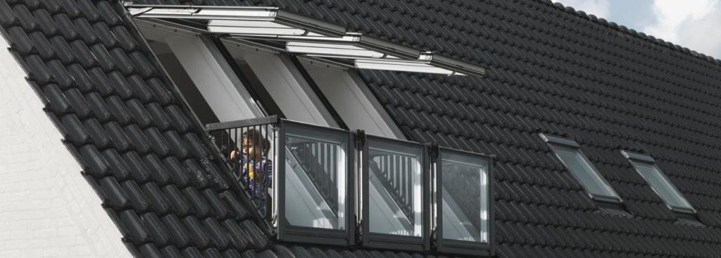 Velux fenêtre balcon