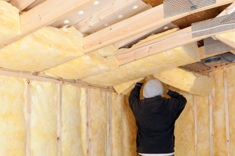 Isolation thermique du plafond