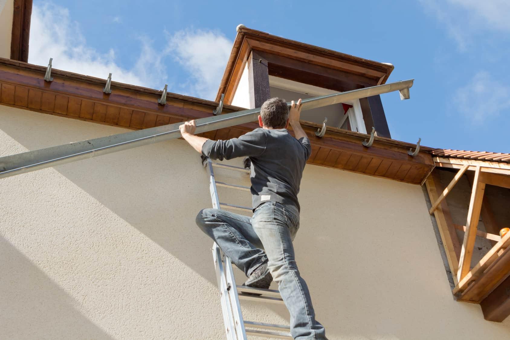 rénovation toit vieux