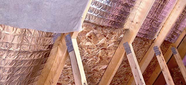 isoler la toiture entre chevrons